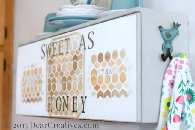How To Use Chalk Paint And Stencil On Furniture