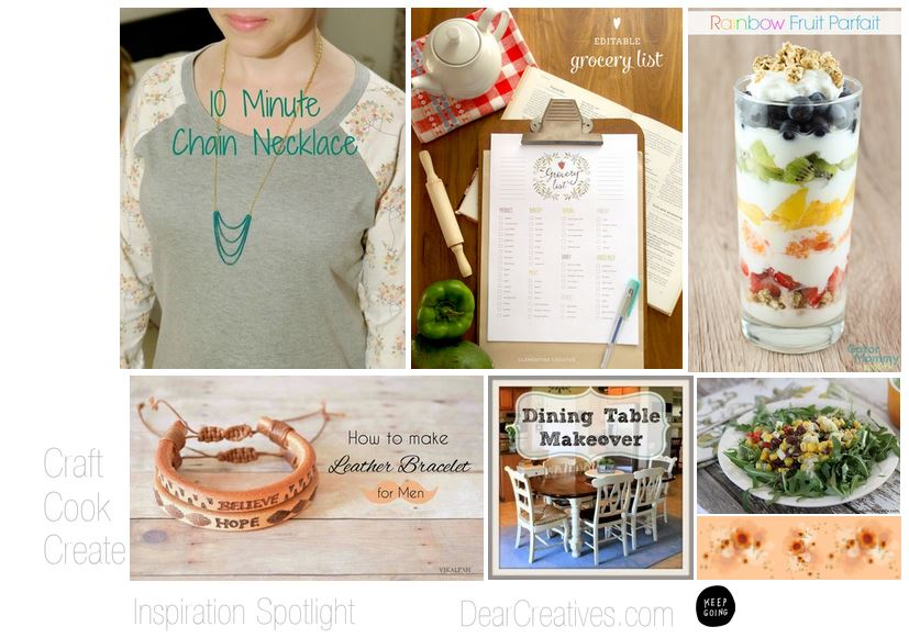 Blogging linky party | Inspiration Spotlight Features DearCreatives.com from party no. 139
