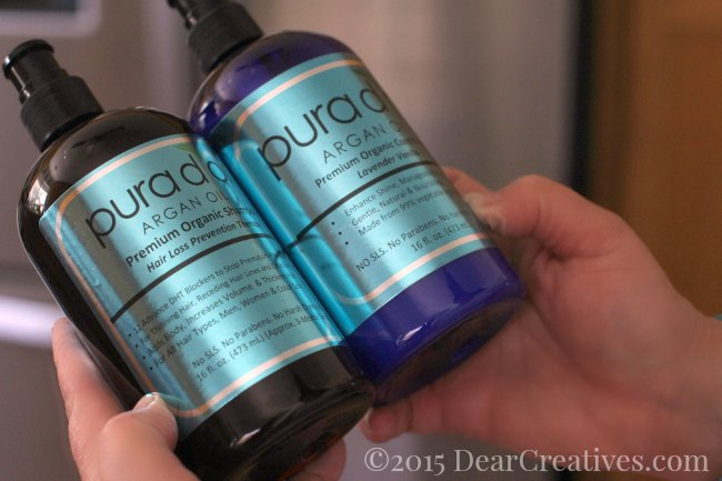 Beauty Reviews | Argan Oil shampoo and conditioner Pura d or |organic products