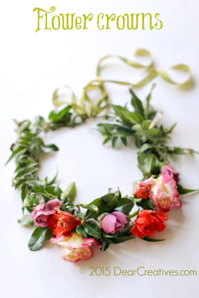 Craft Book Reviews |Flower Crowns 30 DIY  Floral Creations | Flower Crown