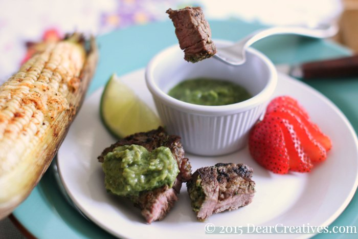 Grilled Recipe| Marinated grilled steak dinner