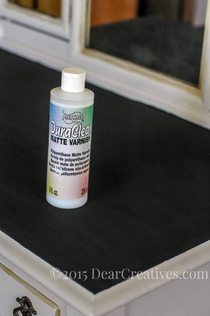 Home Decor Ideas DIY | Matte Varnish ready to finish vanity