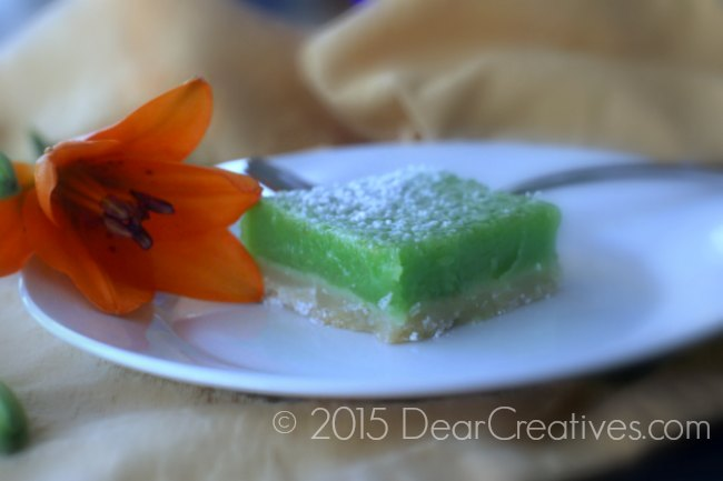 Key Lime Recipes |Lime bars