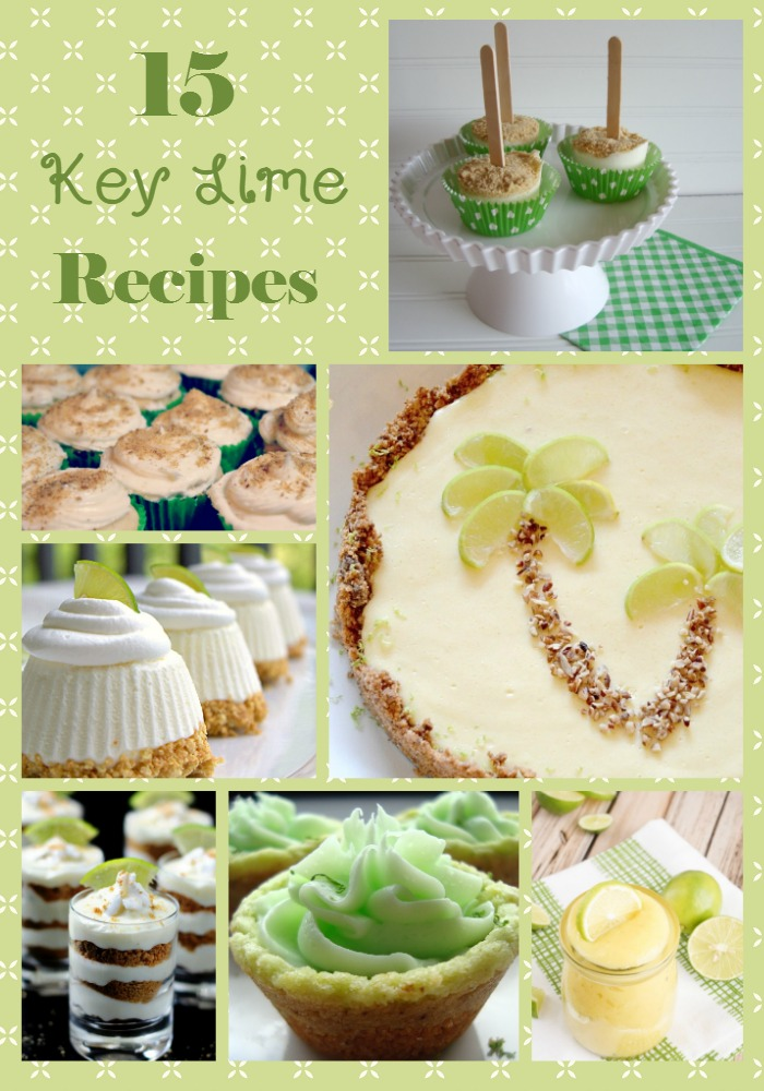 Key Lime Recipes | Key Lime Recipes Collage