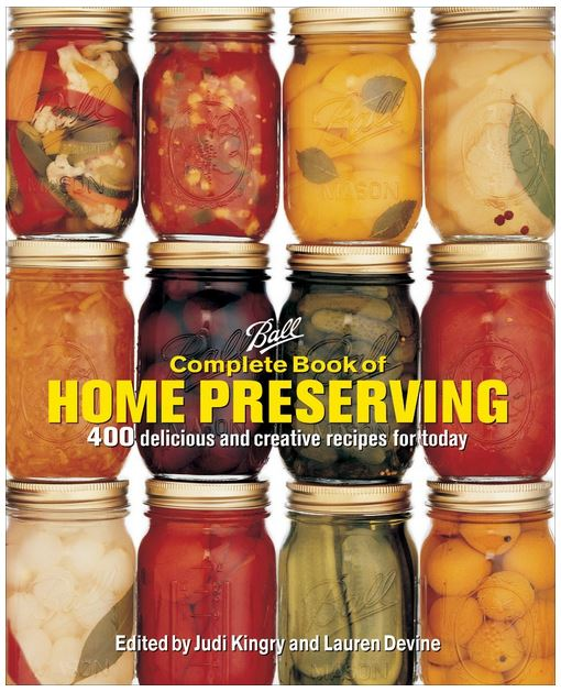 Canning Book Ball Complete Book of Home Preserving