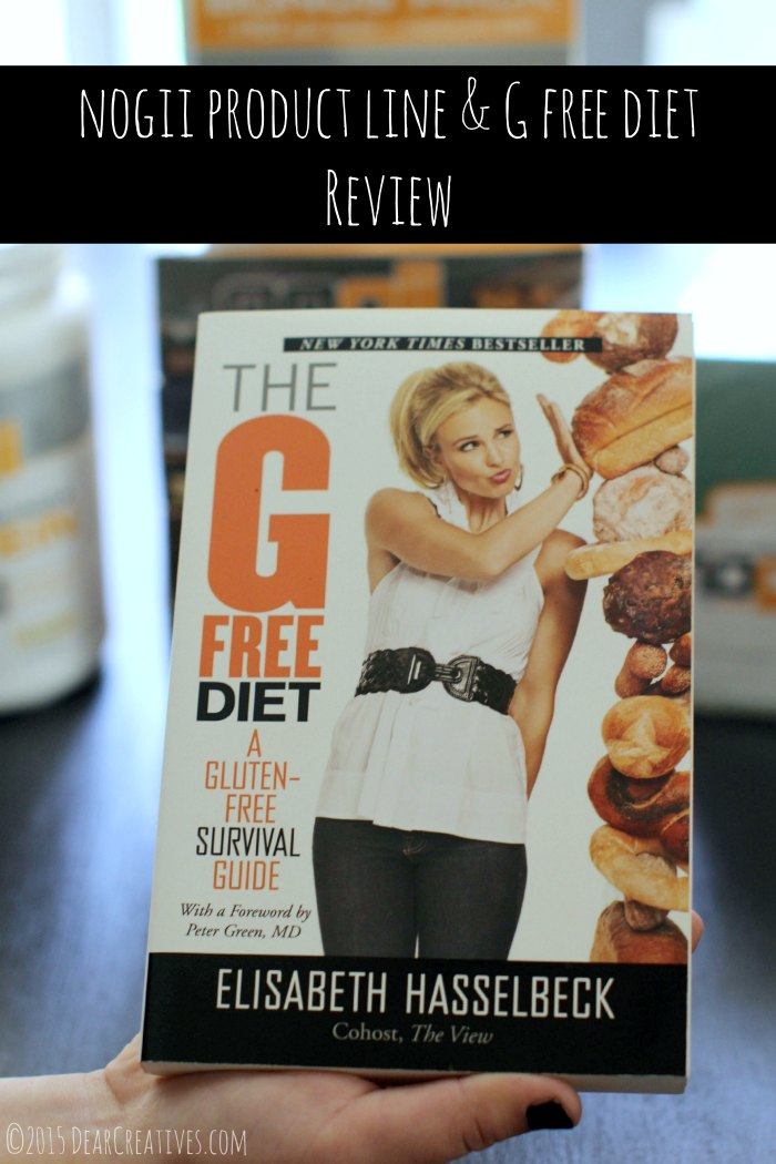 Product Review: Nogii Product Line & G Free Diet #GlutenFree