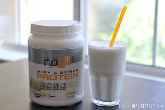 Review Giveaway|product review |Gluten Free Nogii Gluten Free whey and quinoa protein drink