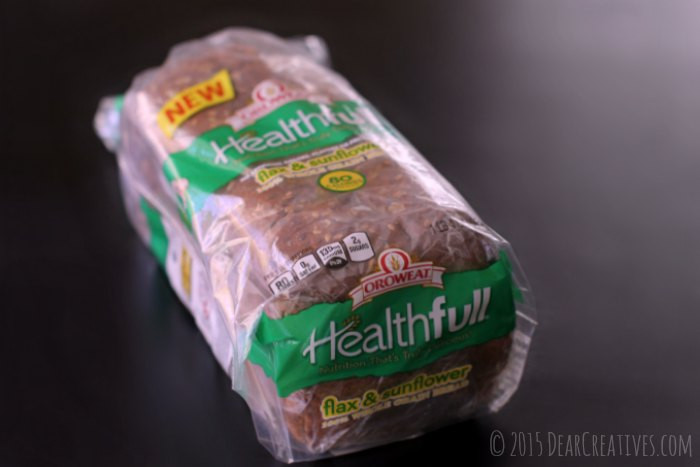 Sandwich Recipes |Healthy Bread Oroweat Healthfull flax and sunflower