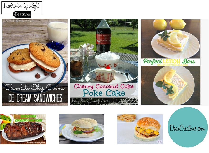 Inspiration Spotlight Blogging Linky party features from party 147