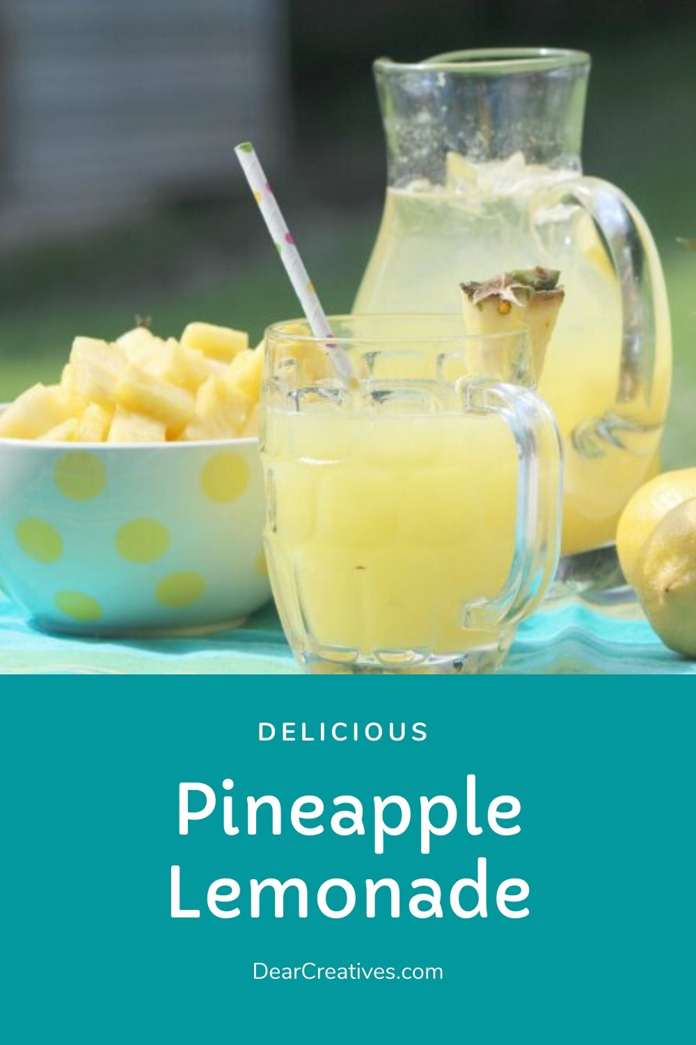 Pineapple Lemonade Perfect For Showers Parties Or Just Sipping