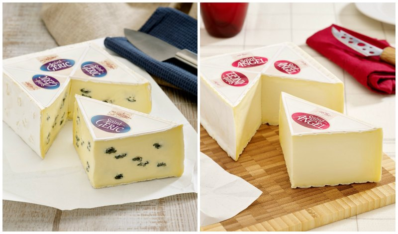 Saint Geric And St Angel French Cheeses
