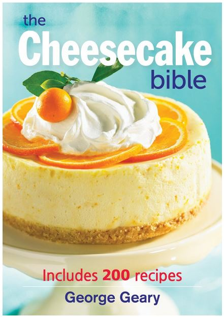 The Cheesecake Bible + Butterscotch Peach Cheesecake