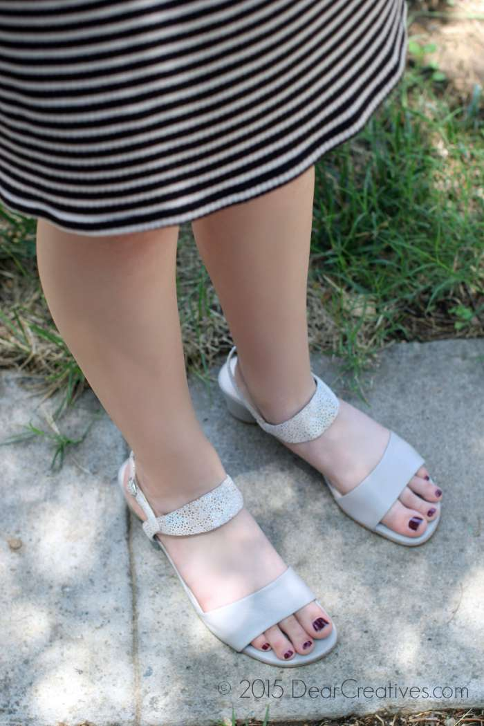 Fashion Shoes: Alterre Leather Sandals w/ Changeable Straps