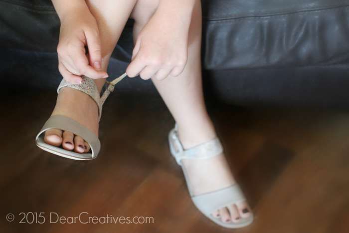 Buckling  Leather Sandals