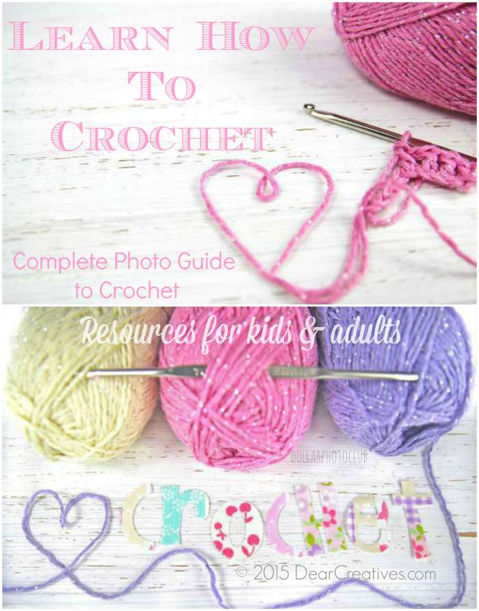 Crafts Crochet: Complete Photo Guide to Crochet
