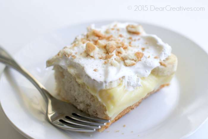 Easy Banana Ice Box Cake