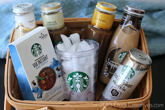 Iced Coffees and Frappuccinos _Starbucks Iced Drinks