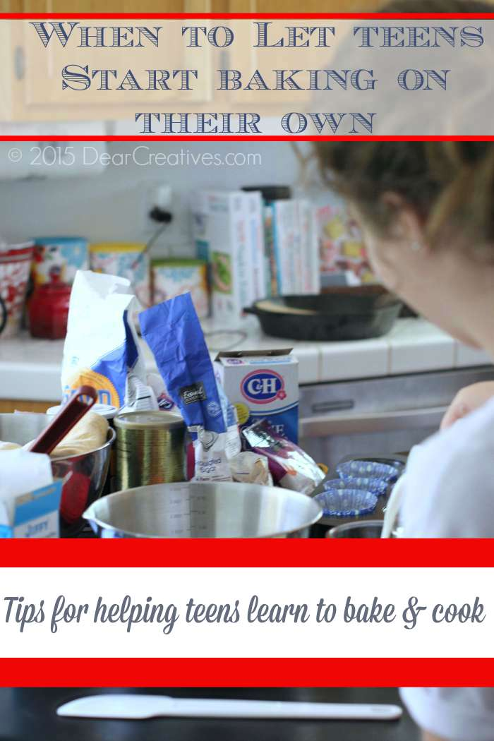 Tips For Teaching Your Kids Or Teens To Cook And Bake