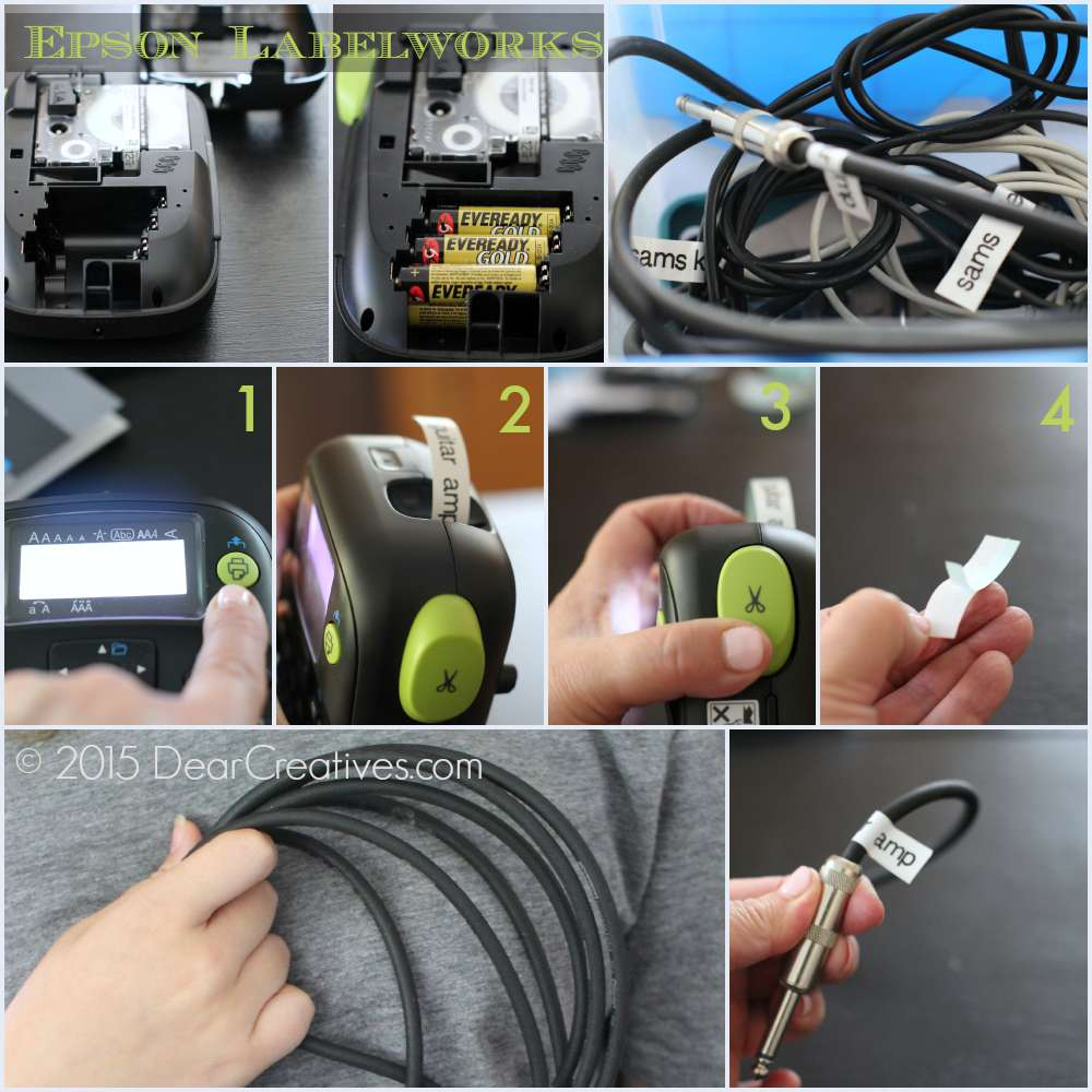 Epson LabelWorks Wire and Cable Kit