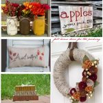 Handmade Fall Décor |Handmade Fall Home Decor | Easy Ideas for Updating Your Home Decor for Fall