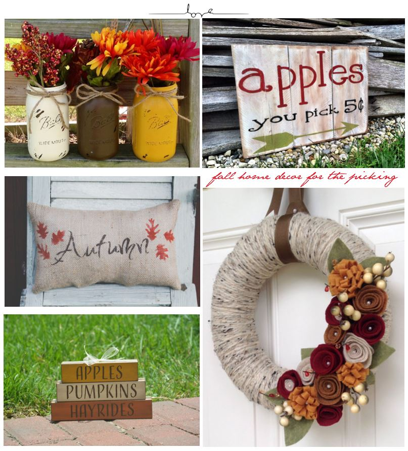 Handmade Fall Home Decor | Easy Ideas for Updating Your Home Decor for Fall