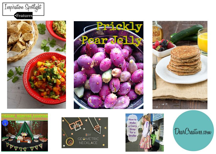 Blogging Linkup Party |Inspiration Spotlight Features Party 8-14 DearCreatives.com