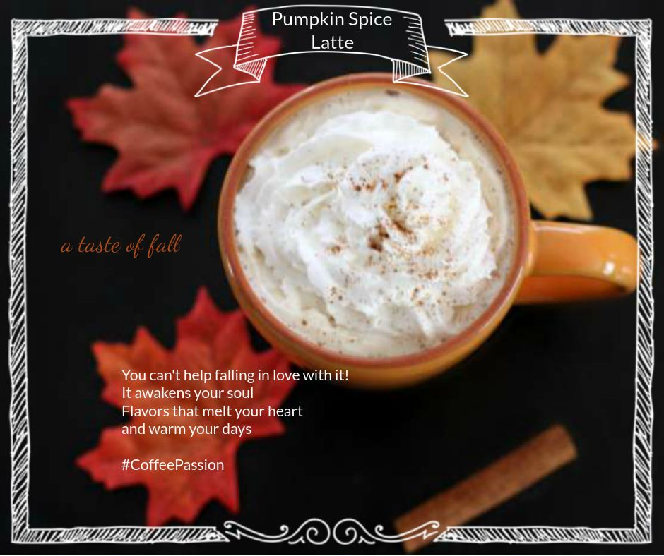 A Taste of Fall coffee time
