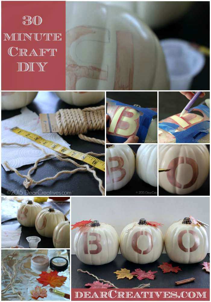 DIY Craft Projects | Craft Project 30 Minute Halloween Craft Project