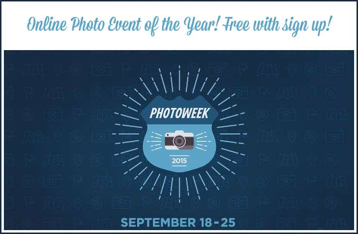 Photo Week |Online Photography classes | Online photo event