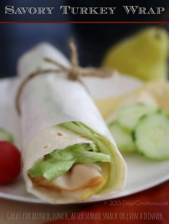 Easy Recipes: Savory Turkey Wrap Sandwich You Want To Try!