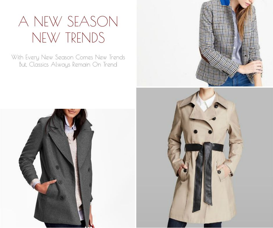Women's Fashion Trends | Classic Womens Outer Wear