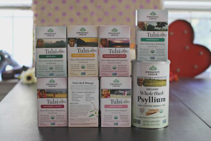 Organic India Products 2
