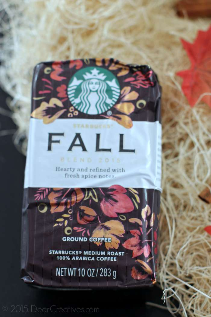 Starbucks Fall Blend Coffee coffee time