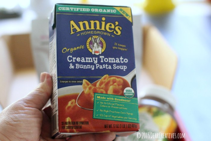 Brands |Annies Creamy Tomato & Bunny Pasta Soup