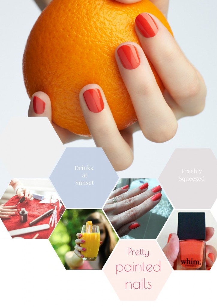 Beauty tips  Painted Nails Collage