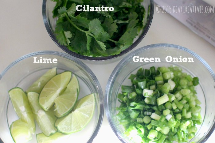 Cilantro Lime Green Onion