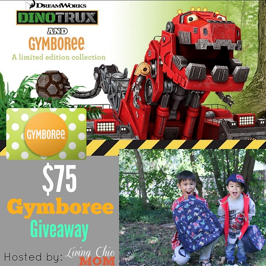 Kids Fashions: DreamWorks Dinotrux And Gymboree Giveaway!!