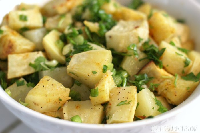 Sweet Potato Pineapple Salad is a side dish that you can use any time of year.