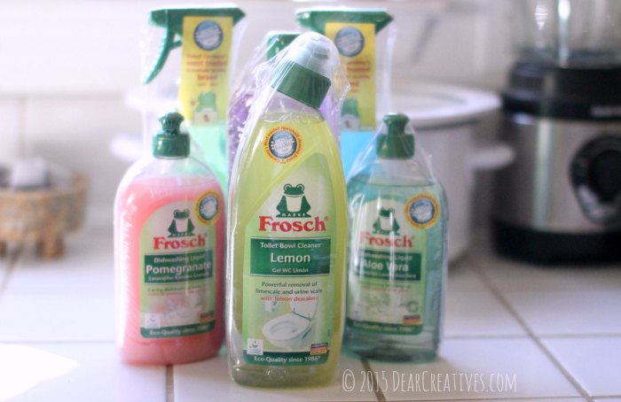 Frosch Cleaning Products and Toilet cleaner