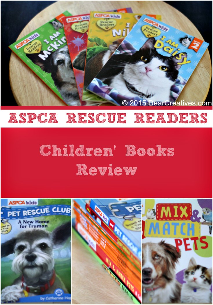 Give The Gift Of Reading With ASPCA Rescue Readers!