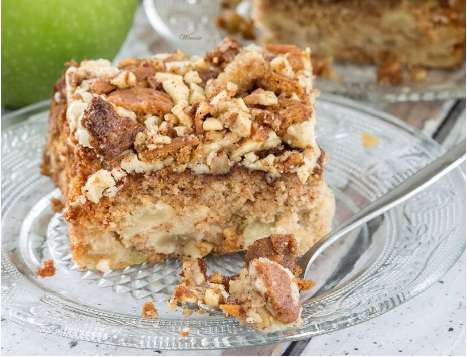 Easy Dessert Recipe |Praline Crunch Apple Cake