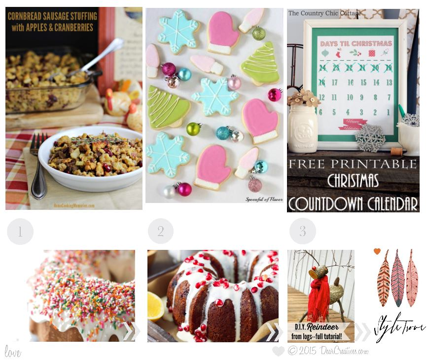 Roundup | Features from Inspriation Spotlight Party 170 Linkup