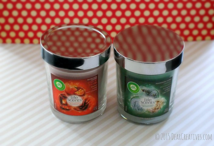 home-Two Air Wick Candles Life Scents