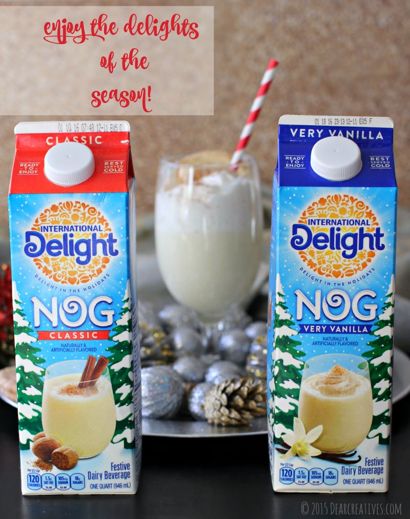 DrinksInternational Delight Eggnogs Classic and Very Vanilla IMG_6621