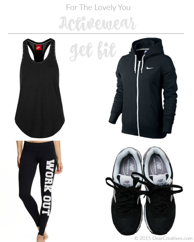 Activewear : Women's Fashions To Get You Up On Your Feet