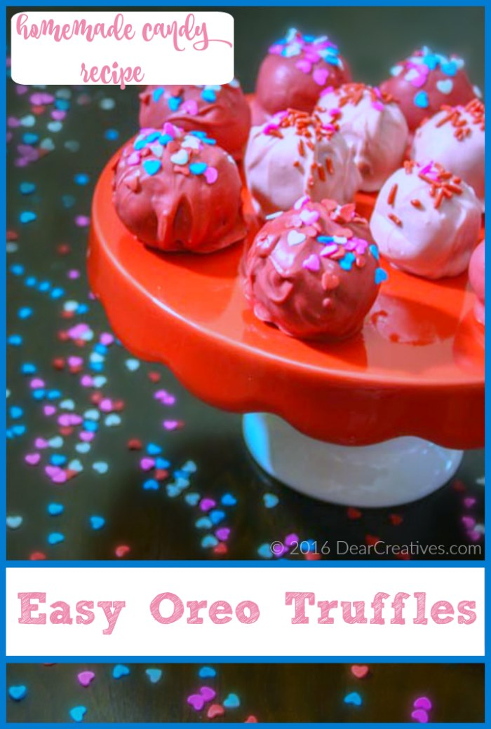 Candy Recipes - Easy Oreo Truffles Recipe