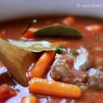 Crockpot Italian Beef Stew - This recipe can be made in the crockpot, slow cooker or Instant Pot on a crock-pot setting. Easy to make, flavorful dish that can be served with noodles, mashed potatoes, rice. DearCreatives.com