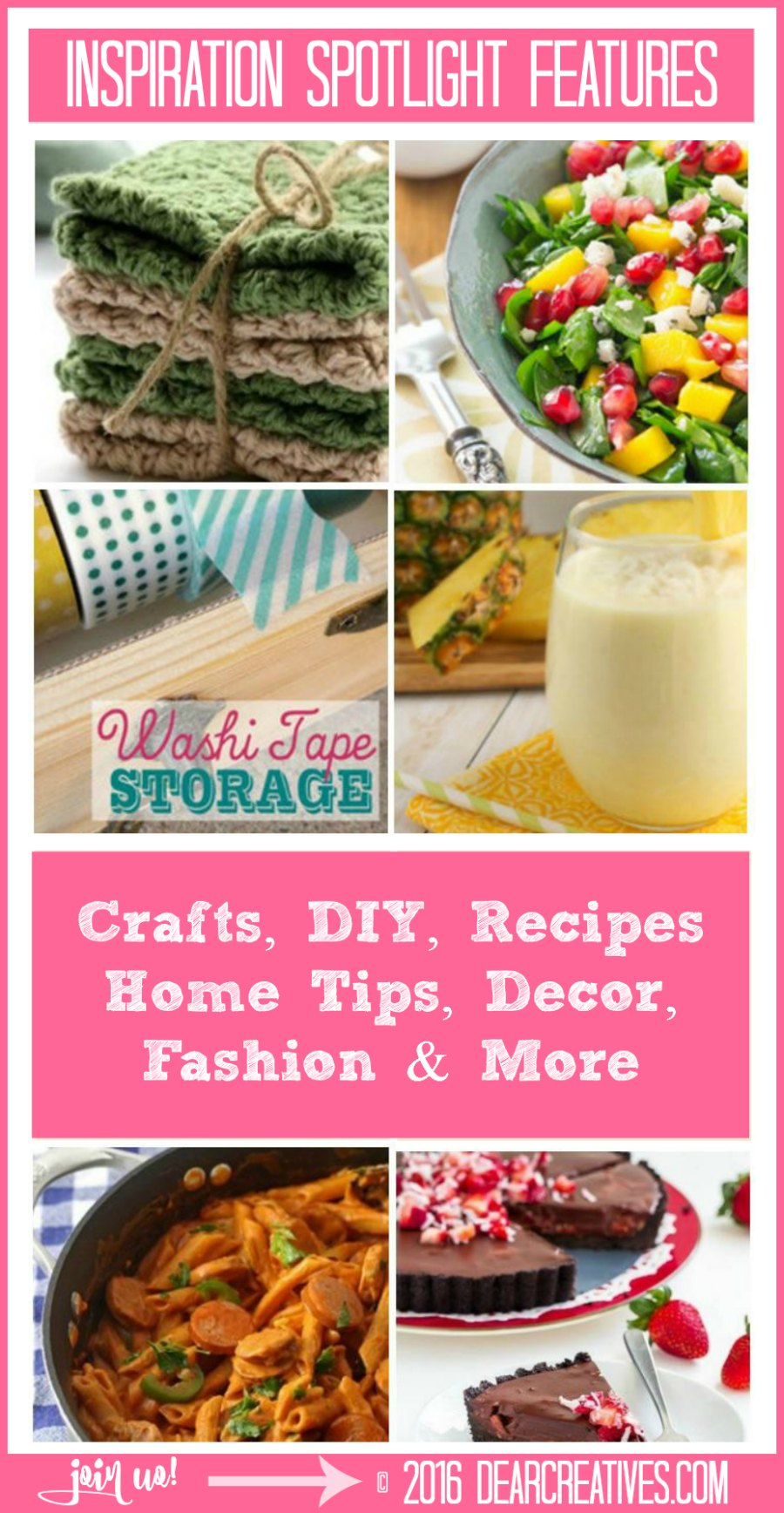 Linkup Party | Inspiration Spotlgiht 178 Features- DearCreatives.com
