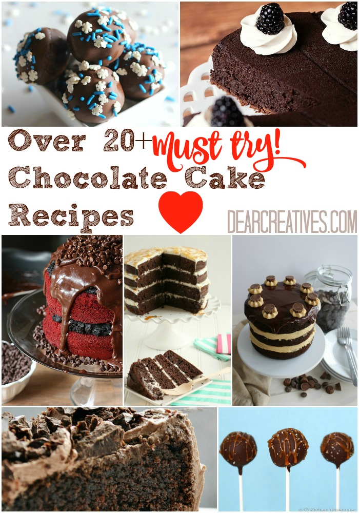 Chocolate Cake Recipes : Delight Any Chocolate Lover!