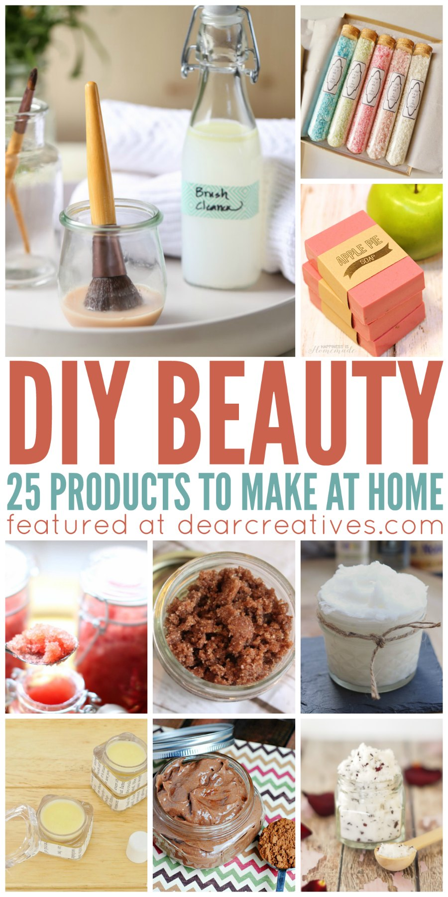 DIY Beauty: 25 Must Try Homemade DIY Beauty Products